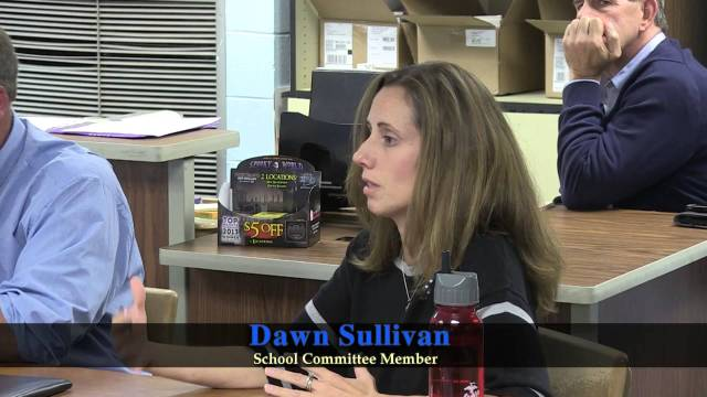 School Committee Meeting Of October 3, 2014