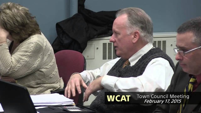 Winthrop Town Council, February 17, 2015
