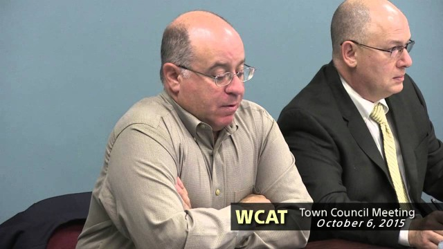 Winthrop Town Council Meeting of October 6, 2015