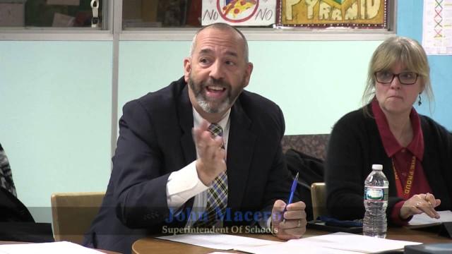 Winthrop School Committee Meeting January 11, 2016