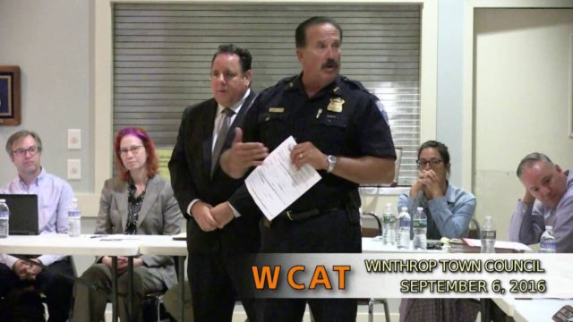 Winthrop Town Council Meeting of September 6, 2016