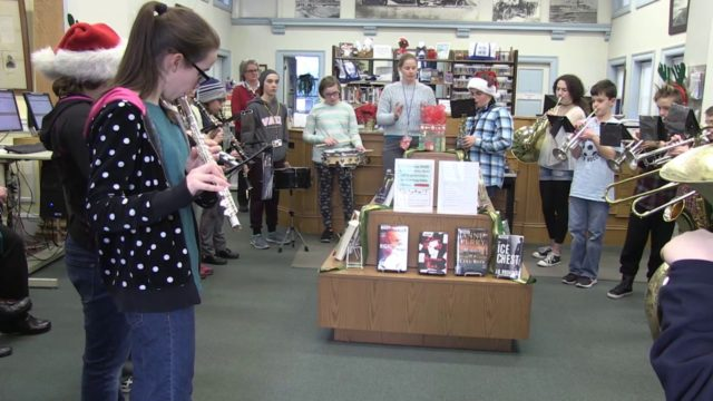 Winthrop Middle School Holiday Band, December 22, 2016