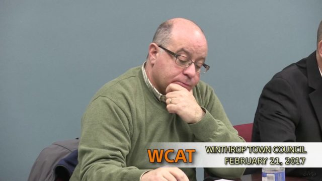 Winthrop Town Council Meeting of February 21, 2017