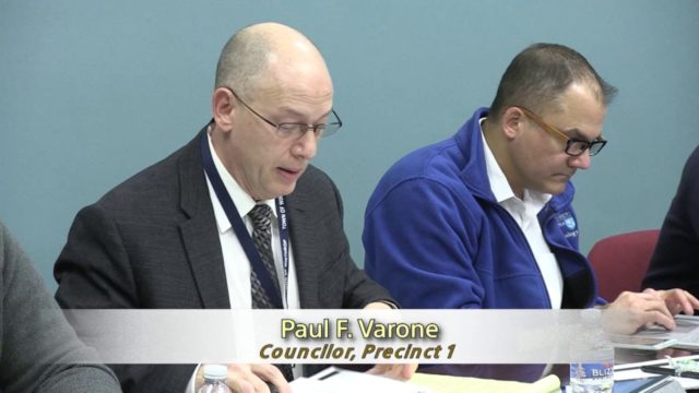 Winthrop Town Council Meeting of March 21, 2017