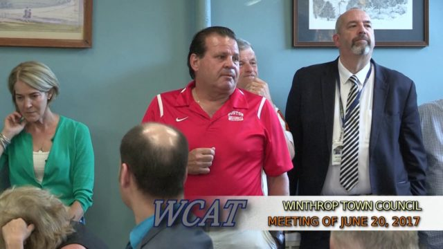Winthrop Town Council Meeting of June 20, 2017