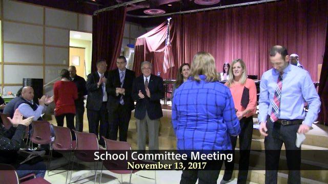 Winthrop School Committee Meeting of November 13, 2017