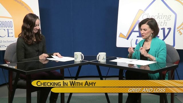 Checking In With Amy: Grief And Loss