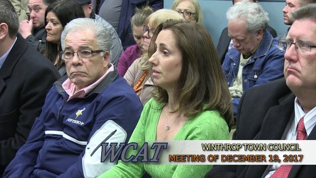 Winthrop Town Council Meeting of December 19, 2017