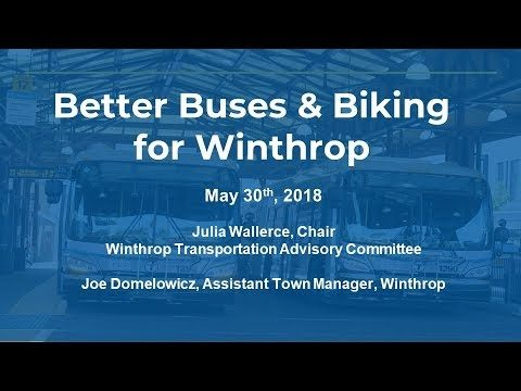 Better Buses and Bikes For Winthrop