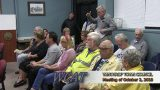 Winthrop Town Council Meeting of October 2, 2018