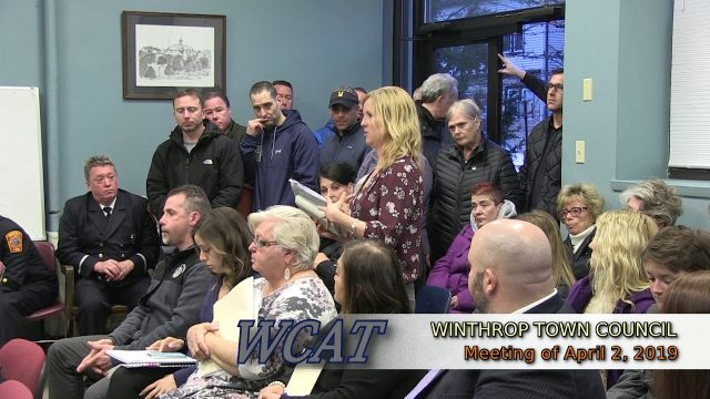 Winthrop Town Council Meeting of April 2, 2019